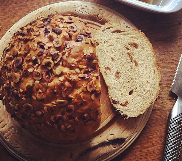 brunchandstuff.com Hazelnut bread.
