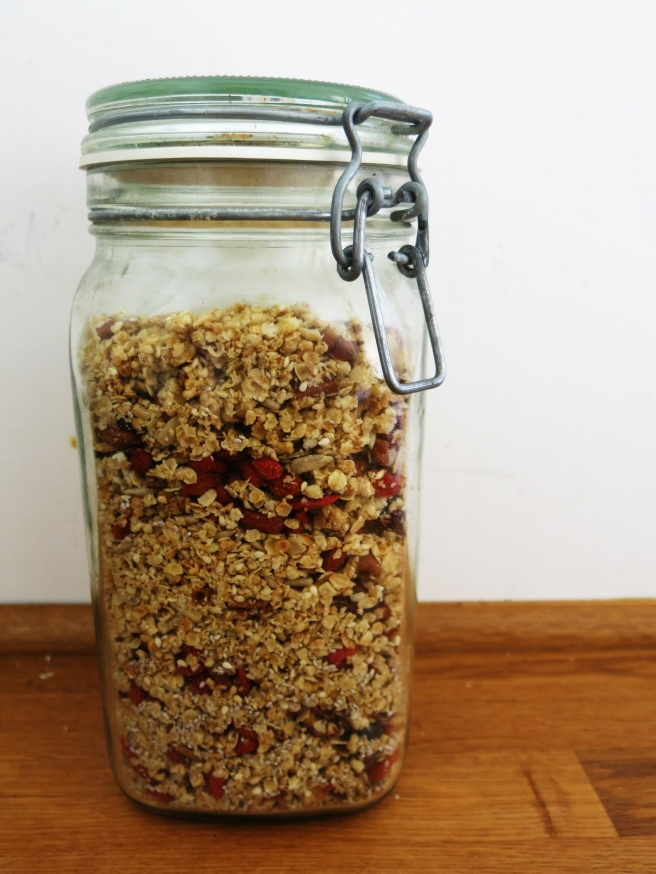 Mother Knows Best: Oat Granola